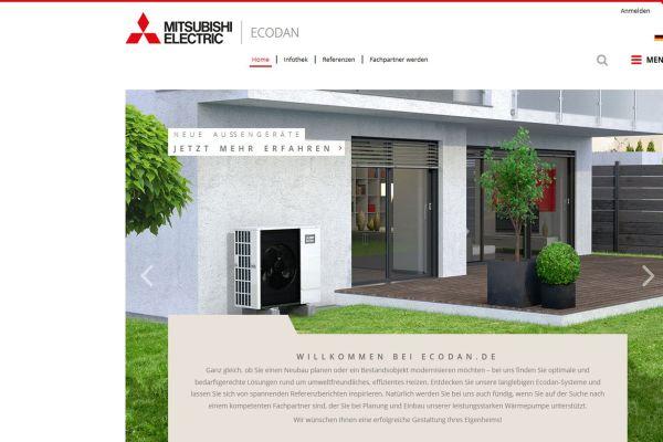 Mitsubishi Electric: Neue Infos zu Wärmepumpen und Lüftungsgeräten