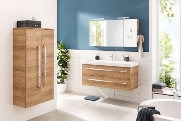 Ein Badezimmer ausgestattet mit dem Design-Programm