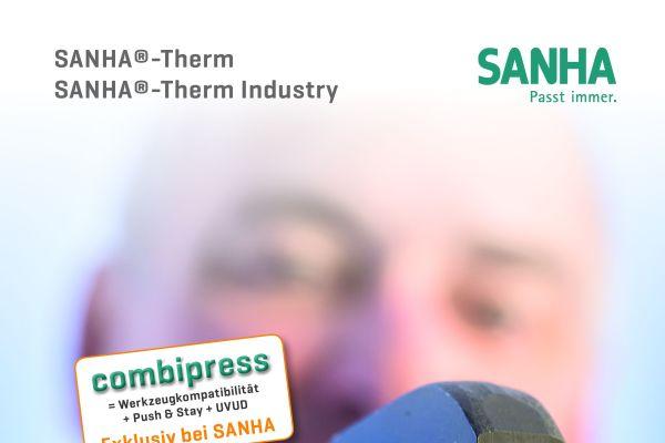 Cover der Sanha-Broschüre zum Presssystem