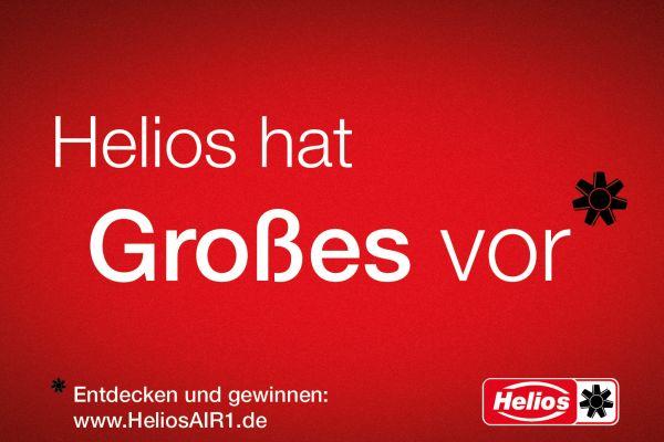 """""""Helios AIR1"""" steht in den Startlöchern – und wartet online mit Gewinnen auf Sie!"""