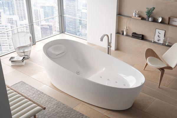 """Die neue """"Floating"""" Badewanne"""
