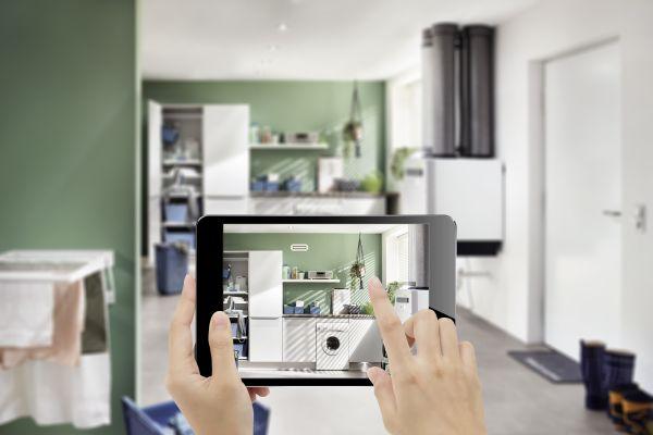 Lüftungs-Design wählen mit Augmented Reality