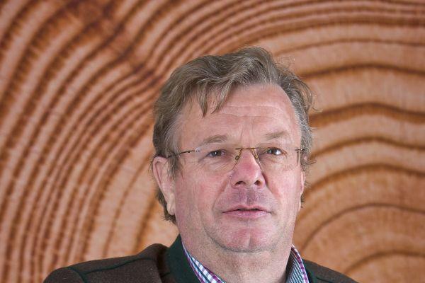"""""""Dass »NESt4« aus Holz gebaut ist, war nur dem Rohbau anzusehen"""", so Dipl.-Ing. Robert Bergmüller, Senior-Chef bei Bergmüller Holzbau und Präsident der Vereinigung ZimmerMeisterHaus."""