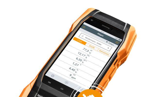 Neues Abgasmessgerät mit Smart-Touch-Technologie