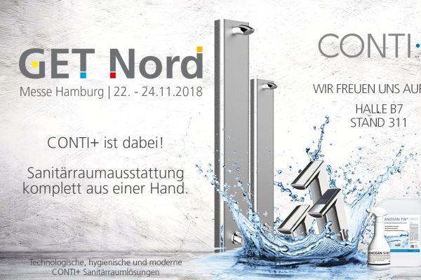 CONTI+ mit Sanitärraumlösungen für das Bad