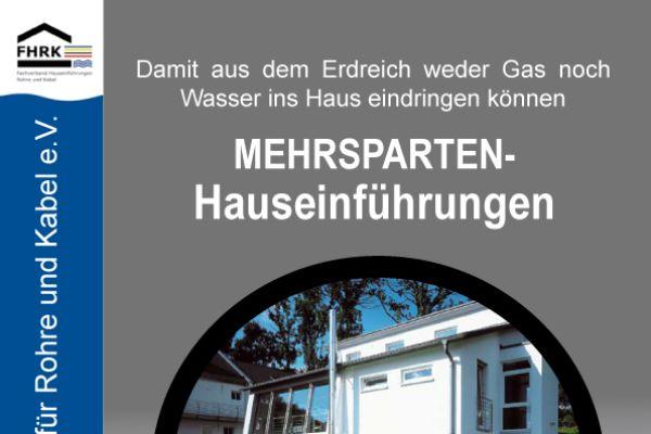 Neue Broschüre zu Mehrspartenhauseinführungen