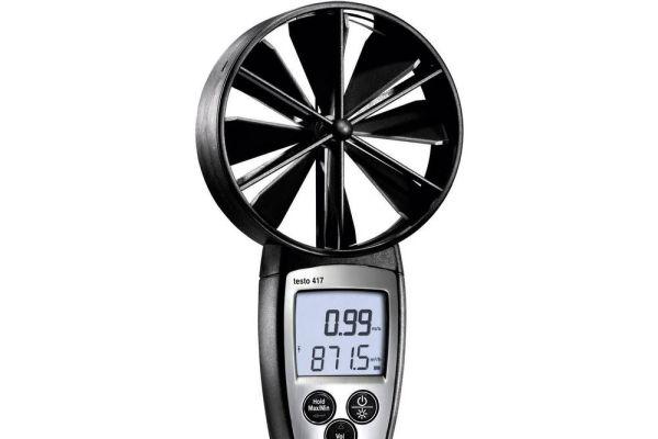 Flügelradanemometer