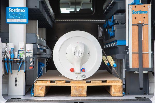 """""""SR5"""" – die Sortimo Fahrzeugeinrichtung für maximale Produktivität im Arbeitsalltag"""