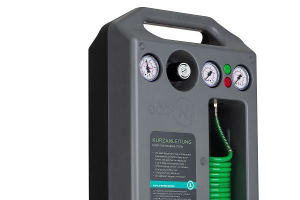 Stickstoff-Füllsystem für Membran-Druckausdehnungsgefäße