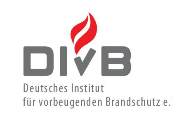 Das Bild zeigt das Logo des Deutschen Instituts für vorbeugenden Brandschutz e.V.