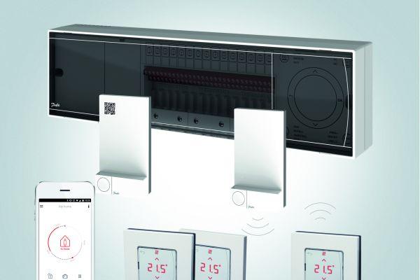 Die Komponenten der digitalen Systemsteuerung Danfoss-