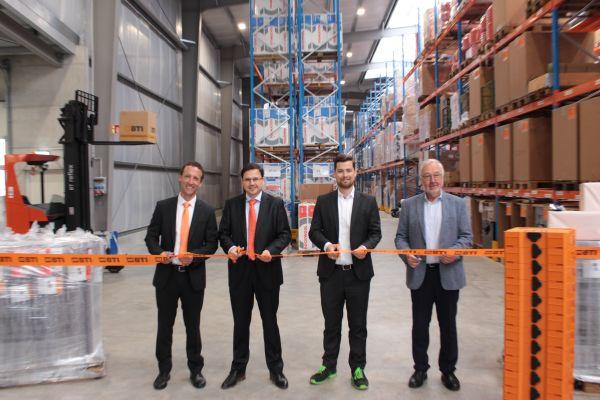 BTI weiht neuen Logistikstandort ein