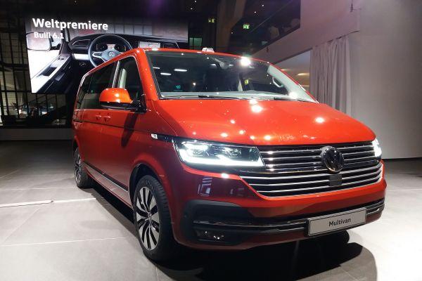 Volkswagen Nutzfahrzeuge präsentiert Update der Transporter-Baureihe