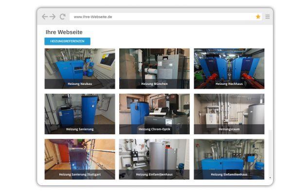 Der eigene Showroom kann nicht nur stationär und mobil eingesetzt werden, sondern auch auf der Webseite.