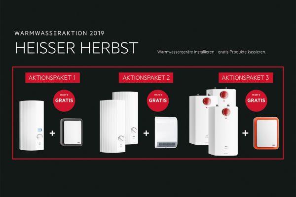 """Aktionspakete """"Heißer Herbst"""" bei AEG Haustechnik"""