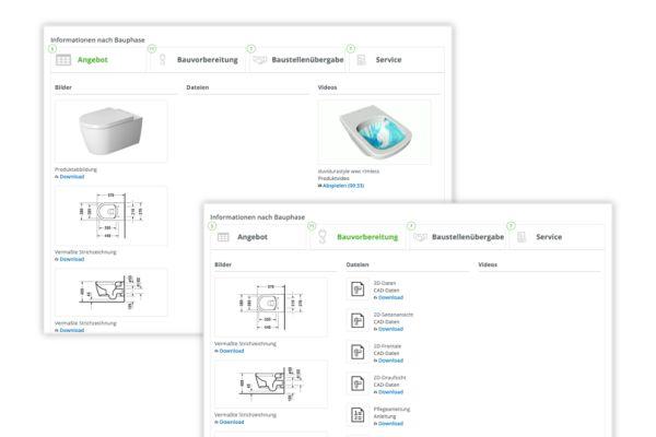 Screenshot der Detail-Darstellung der