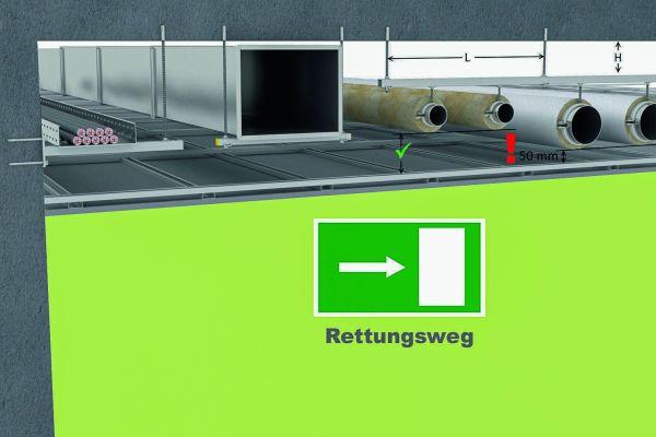 Regelkonforme Brandschutzlösungen im Installationsbereich