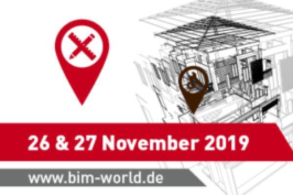 Banner von Keßler Solutions mit Infos zur BIM World 2019.