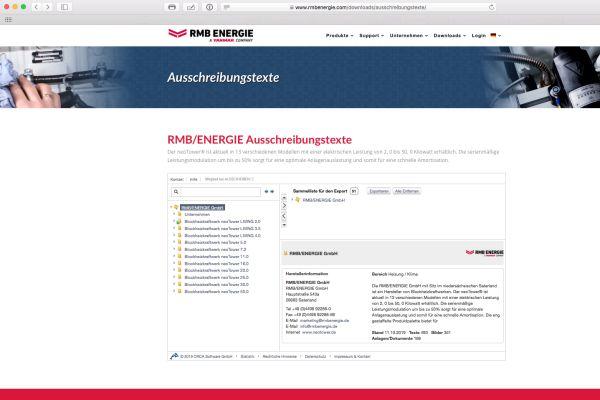 """RMB/Energie jetzt bei """"ausschreiben.de"""" gelistet"""