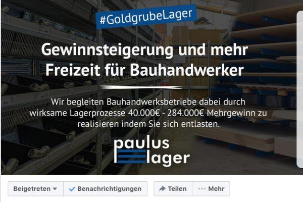 Paulus-Lager etabliert Facebook-Gruppe #goldgrubelager