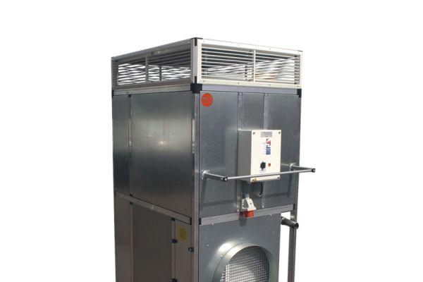 Ein mobiler Luftkühler.