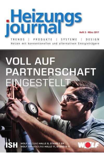 HeizungsJournal - Heft 3 2017 Heft 3 2017