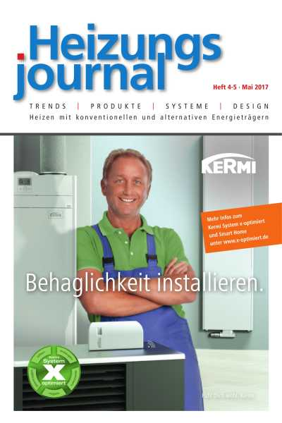 HeizungsJournal - Heft 4/5 2017 Heft 4/5 2017