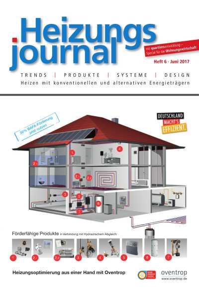 HeizungsJournal Heft 6 2017 Heft 6 2017