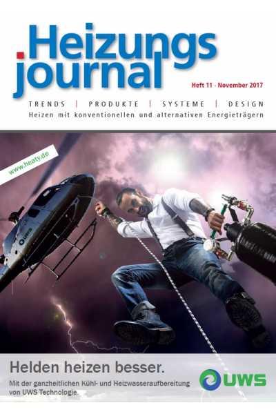 HeizungsJournal - Heft 11, November 2017 HeizungsJournal - Heft 11/2017