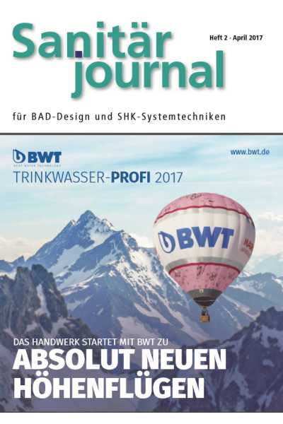 SanitärJournal - Heft 2, April 2017 SanitärJournal - Heft 2/2017