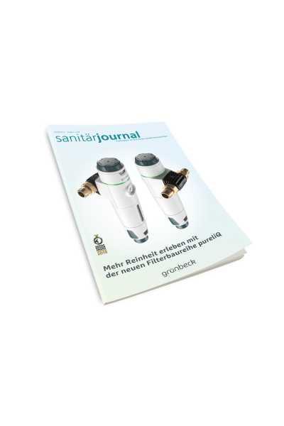 SanitärJournal - Heft 4, August 2020 SanitärJournal - Heft 4/2020