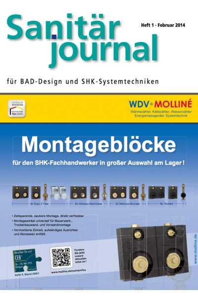 SanitärJournal – Heft 1 2014 Heft 1 2014