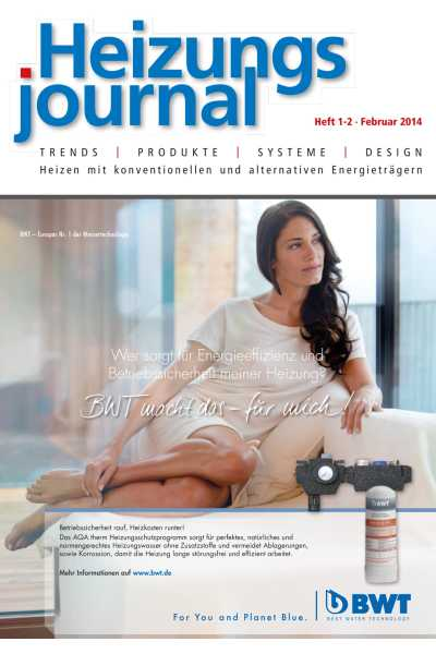 HeizungsJournal – Heft 1-2, Februar 2014 HeizungsJournal – Heft 1-2/2014