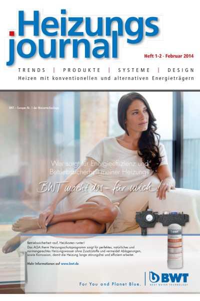 HeizungsJournal – Heft 1/2 2014 Heft 1/2 2014