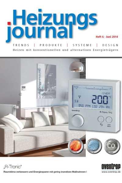 HeizungsJournal – Heft 6 2014 Heft 6 2014