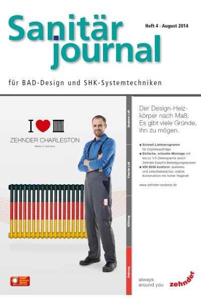 SanitärJournal – Heft 4, August 2014 SanitärJournal – Heft 4/2014