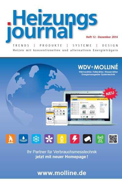 HeizungsJournal – Heft 12 2014 Heft 12 2014