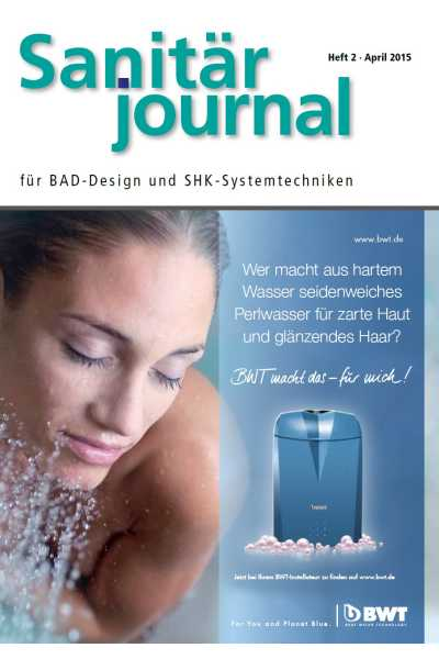 SanitärJournal – Heft 2, April 2015 SanitärJournal – Heft 2/2015
