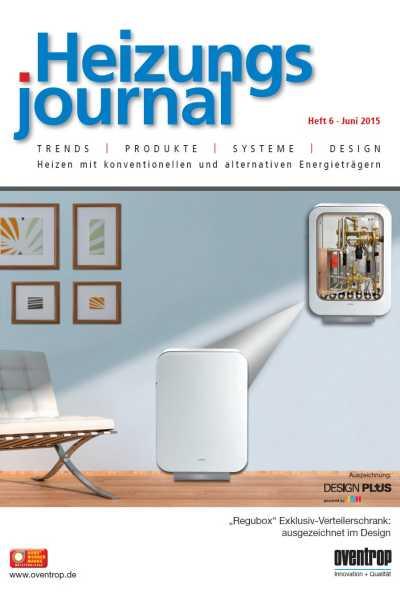 HeizungsJournal – Heft 6 2015 Heft 6 2015