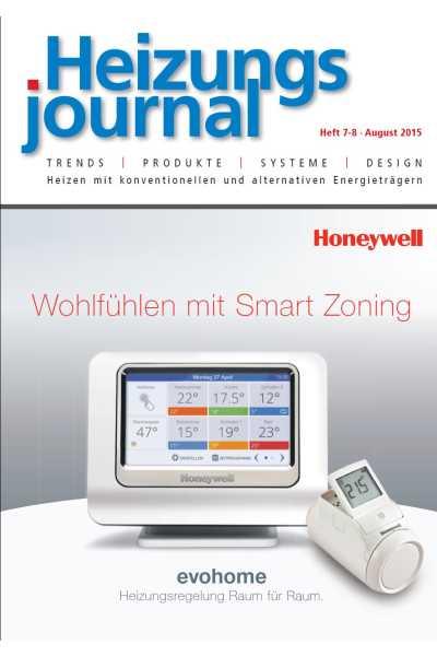 HeizungsJournal – Heft 7-8, August 2015 HeizungsJournal – Heft 7-8/2015