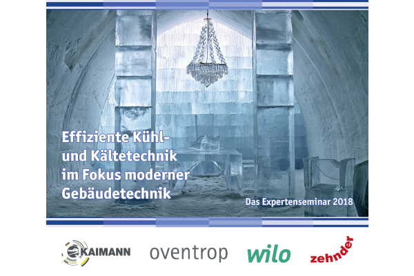 """Imagebild""""Effiziente Kühl- und Kältetechnik im Fokus moderner Gebäudetechnik"""": Bremen, 19.06.2018"""