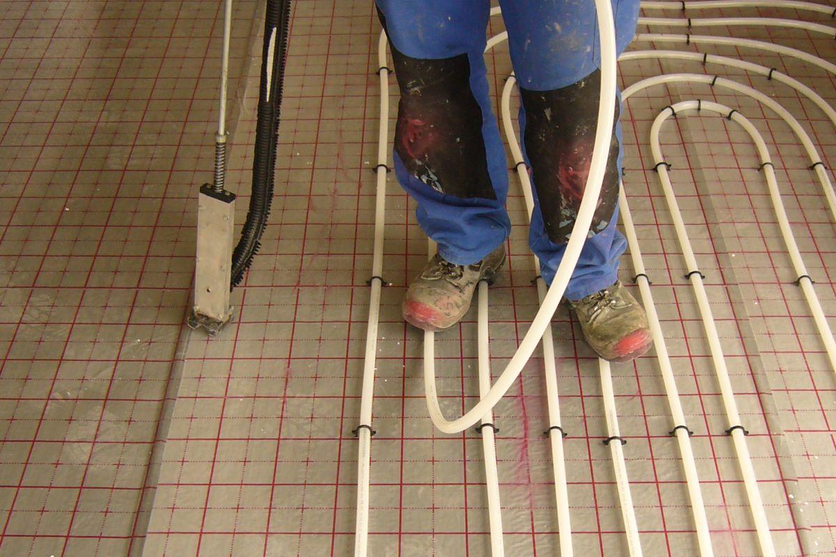 Fußbodenheizung ~ Fußbodenheizungen fachgerecht verlegen heizungsjournal