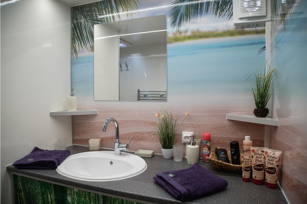 ISH 9: Mobiles Badezimmer im Pkw-Anhänger - SanitärJournal