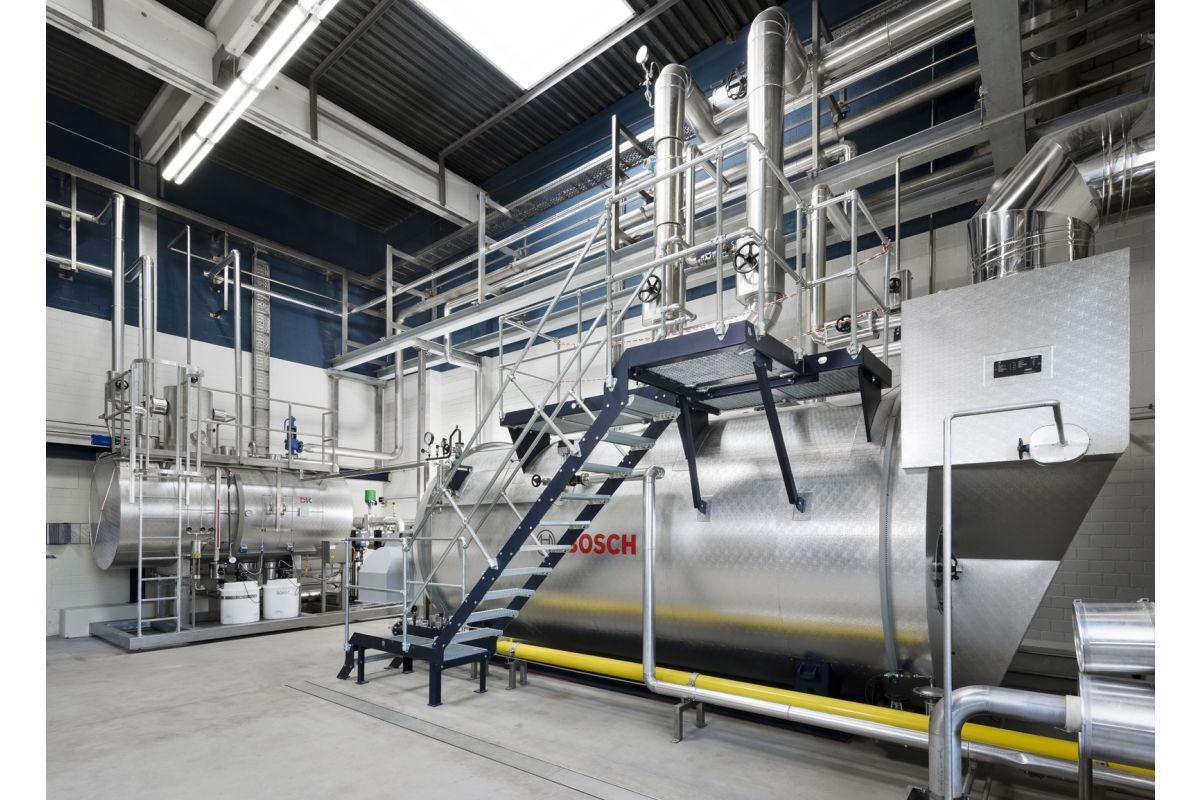 Ausbau der Bier-Produktion mit Bosch-Dampfkessel - HeizungsJournal