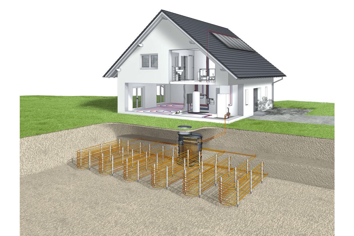 konzepte zum heizen mit solar w rmepumpen heizungsjournal. Black Bedroom Furniture Sets. Home Design Ideas