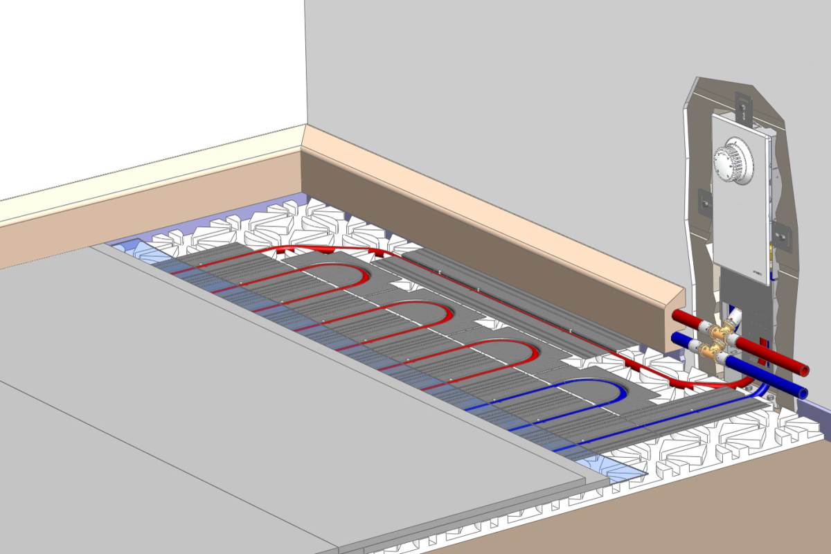 Fußbodenheizung ~ Altbausanierung wärmeerzeugung mit fußbodenheizung heizungsjournal