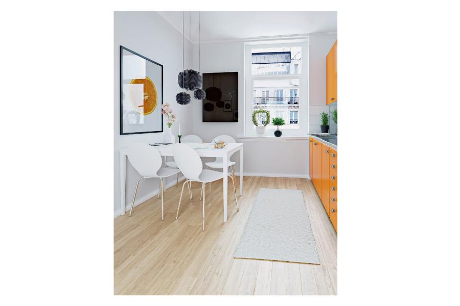 """Effizient, leistungsstark und schön: Moderne Elektroheizungen wie die """"Lava Glas 2.0 – Crystal"""" bringen nicht nur wohlige Wärme, sondern auch Stil in die eigenen vier Wände."""