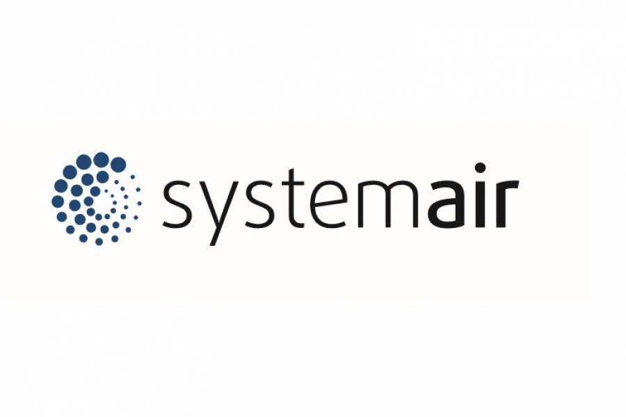 Das Logo von Systemair.