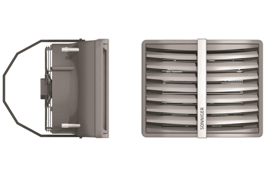 """Produktfoto des Wasser-Luft-Erhitzers """"Heater""""."""