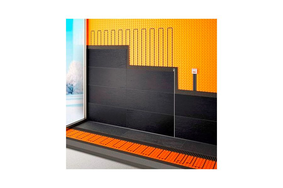 elektrisches Flächenheizsystem für die Wand und Fußböden
